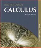 Calculus Combo Early Transcendentals and Online Study Center, Rogawski, Jon, 1429282576
