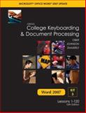 Gregg College Keyboarding and Document Processing Microsoft Office Word 2007 Update, Scot Ober and Jack E. Johnson, 0077212576