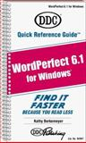 Quick Reference Guide for WordPerfect 6.1 for Windows, Berkemeyer, Kathy M., 1562432575