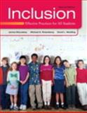 Inclusion : Effective Practices for All Students, McLeskey, James M. and Rosenberg, Michael S., 0132862573
