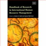 Handbook of Research in International Human Resource Management, Stahl, Günter K. and Björkman, Ingmar, 1847202586