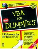 VBA for Dummies, Cummings, Steve, 0764502581