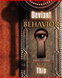 Deviant Behavior, Thio, Alex, 0205512585