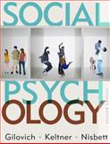 Social Psychology, Keltner, Dacher and Gilovich, Tom, 0393932583