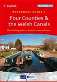 Four Counties and the Welsh Canals, Collins Maps Staff, 0007452594