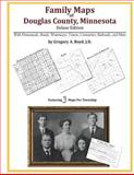 Family Maps of Douglas County, Minnesota, Deluxe Edition : With Homesteads, Roads, Waterways, Towns, Cemeteries, Railroads, and More, Boyd, Gregory A., 1420312596