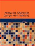 Analyzing Character, Katherine M. H. Blackford and Arthur Newcomb, 142646259X