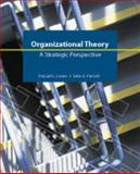 Organizational Theory : A Strategic Perspective, Lester, Donald and Parnell, John A., 1592602592