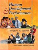 Human Development and Performance Throughout the Lifespan, Cronin, Anne and Mandich, Mary Beth, 0766842606