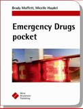 Emergency Drugs Pocket, Moffett, Brady S. and Haydel, Micelle J., 1591032601
