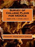Survey of College Plans for MOOCs, Primary Research Group, 1574402609