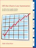 Off the Charts Law Summaries : An All-In-One Graphic Outline of the 1L Courses, Schechter, Julie, 1611632609
