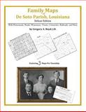 Family Maps of de Soto Parish, Louisiana, Deluxe Edition : With Homesteads, Roads, Waterways, Towns, Cemeteries, Railroads, and More, Boyd, Gregory A., 142031260X