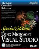 Using Microsoft Visual Studio, Sullivan, G. A., 0789712601