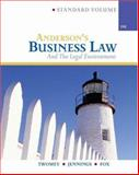 Anderson's Business Law and Legal Environment, Standard, Twomey, David and Jennings, Marianne M., 0324222602