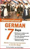 Conversational German in 7 Days, Baldwin, Shirley and Boas, Sarah, 0071432612