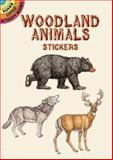 Woodland Animals Stickers, Dianne Gaspas, 048641261X
