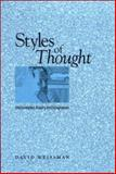 Styles of Thought, David Weissman, 0791472612