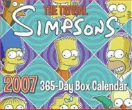 The Trivial Simpsons 2007 365-Day Box Calendar, Matt Groening, 0060892617