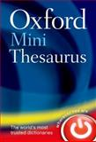 Oxford Mini Thesaurus, Oxford Dictionaries, 0199692629