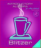 Introductory Algebra, Blitzer, Robert F., 0131492624