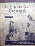 Integrated Chinese, Tao-chung Yao and Yuehua Liu, 0887272622