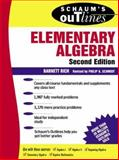 Elementary Algebra, Rich, Barnett, 0070522626