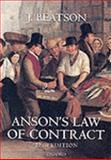 Anson's Law of Contract, Beatson, J., 0198252625