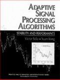 Adaptive Signal Processing Algorithms 9780135012635