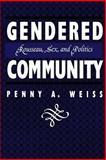 Gendered Community 9780814792636
