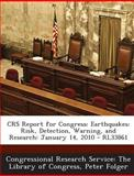 Crs Report for Congress, Peter Folger, 1293252646