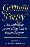 German Poetry 9780521312646