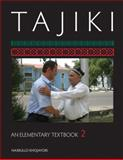 Tajiki : An Elementary Textbook, Khojayori, Nasrullo, 158901264X