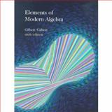 Elements of Modern Algebra, Gilbert, Linda and Gilbert, Jimmie, 053440264X