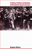 Feuding, Conflict and Banditry in Nineteenth-Century Corsica 9780521522649
