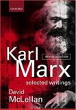 Karl Marx - Selected Writings, Marx, Karl, 0198782659