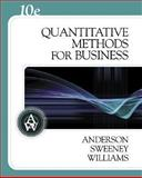 Quantitative Methods for Business, Anderson, David R. and Sweeney, Dennis J., 0324312652