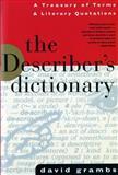 The Describer's Dictionary, David Grambs, 0393312658