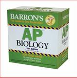 Barron's AP Biology Flash Cards, Deborah T. Goldberg M.S., 0764162659
