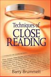 Techniques of Close Reading, Brummett, Barry S., 1412972655