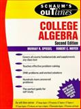 Schaum's Outline of College Algebra, Siegel, Murray R. and Moyer, Roert E., 0070602662