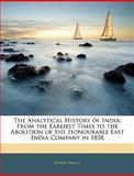 The Analytical History of Indi, Robert Sewell, 1145982662