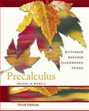 Precalculus : Graphs and Models Graphing Calculator Manual Package, Bittinger, Marvin A. and Beecher, Judith A., 0321292669