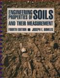 Engineering Properties of Soils and their Measurement, Bowles, Joseph E., 0079112668