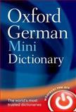 Oxford German Mini Dictionary, Oxford Dictionaries, 0199692661