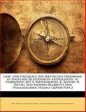 Lehr- und Handbuch der Politischen Oekonomie, Karl Bücher and Heinrich Dietzel, 114254267X