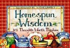 Homespun Wisdom 9781570512674