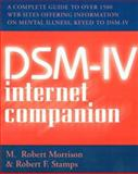 DSM-IV Internet Companion, Morrison, M. Robert and Stamps, Robert F., 0393702677