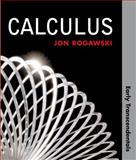 Calculus : Early Transcendentals, Rogawski, Jon, 0716772671
