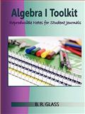 Algebra I Toolkit, B. R. Glass, 125704267X